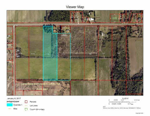 This property is located on county road 12 on the west side of HWY 59 in Foley. Two tax ppin # 5568 and 82831. The owners want it sold together for a total of 17.1 acres. This is flat land, that can be developed residential or commercial. Must go though city of Foley for zoning.