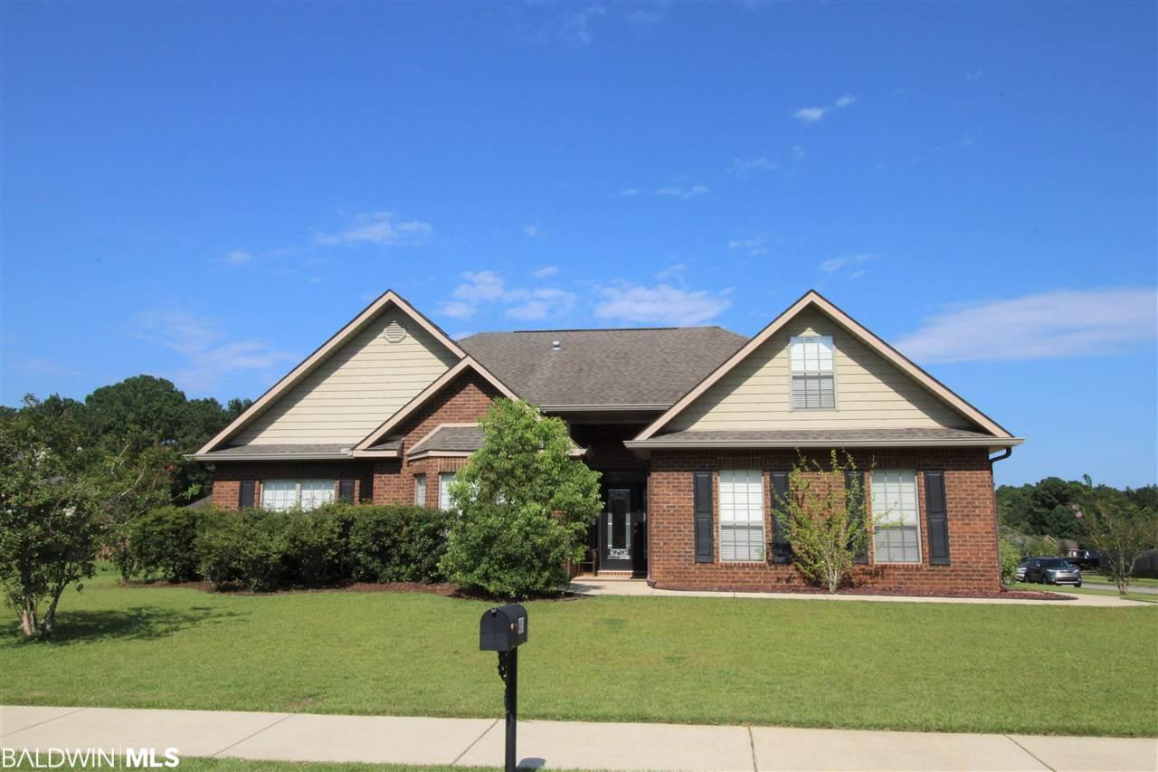 Beautiful all brick home located in popular The Willows subdivision. All rooms on main floor except large bonus room with closet that could be 4th bedroom. Nice open floor plan with arched doorways. Big living room with cathedral ceiling and plenty of natural light. Gas fireplace. Fantastic kitchen with granite counterops and kitchen island. New Bosch dishwasher. Breakfast area currently used as sitting area. Separate dining room with passthru window & trey ceiling. Spacious Master Bedroom with trey ceiling and patio access. Master bathroom has granite countertops, double sink vanity, soaking tub, separate shower completely tiled. Two large guest bedrooms downstairs with full bath. Exended patio for additional entertaining space. Large leve