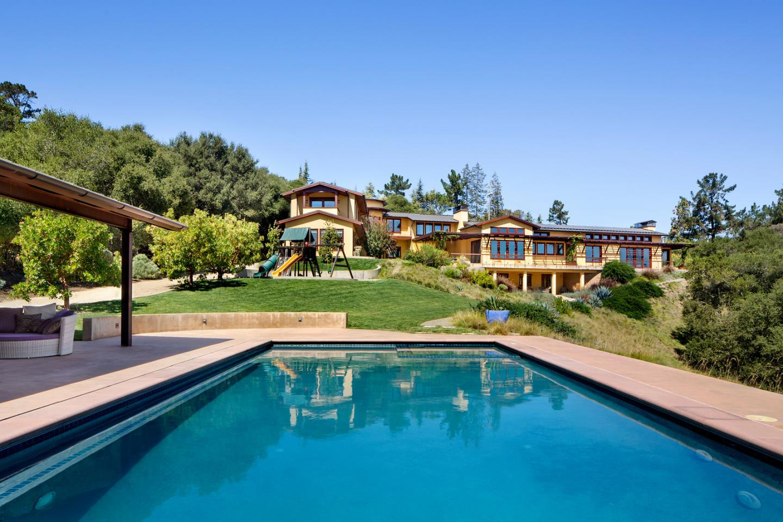 Частный односемейный дом для того Продажа на 150 Alamos Road 150 Alamos Road Portola Valley, Калифорния 94028 Соединенные Штаты