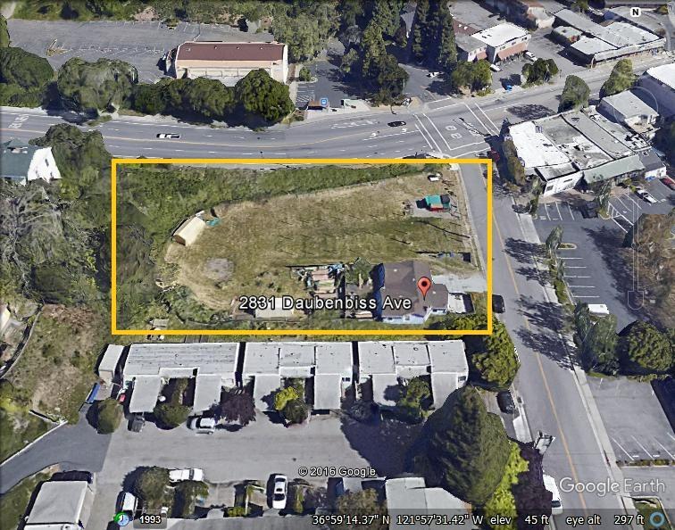 土地 のために 売買 アット 2831 Daubenbiss Avenue 2831 Daubenbiss Avenue Soquel, カリフォルニア 95073 アメリカ合衆国
