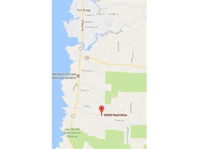 Land for Sale at 32395 Pearl Drive 32395 Pearl Drive Fort Bragg, California 95437 United States