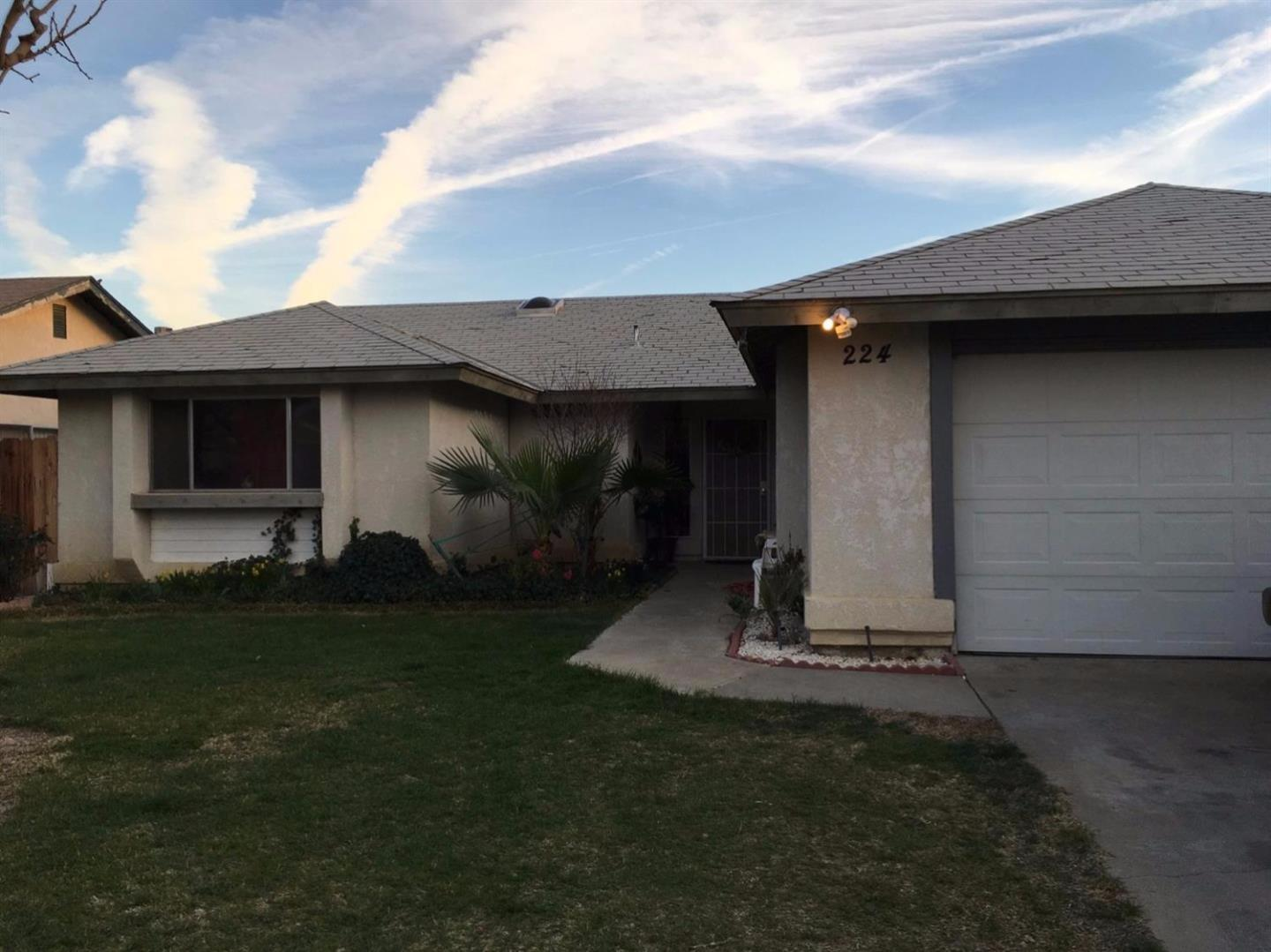 Single Family Home for Sale at 224 San Benito Street Avenal, California 93204 United States