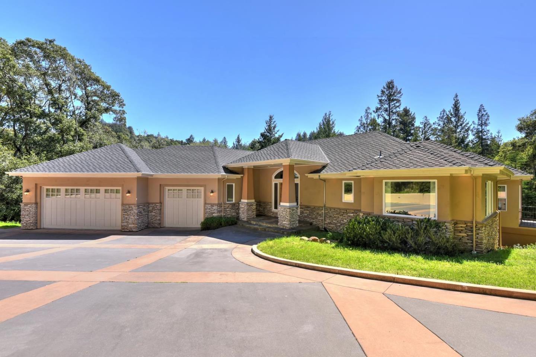 獨棟家庭住宅 為 出售 在 337 Thin Edge Road Santa Cruz, 加利福尼亞州 95065 美國