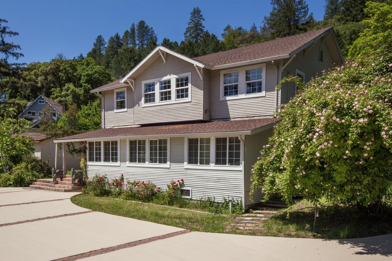 獨棟家庭住宅 為 出售 在 6701 E Zayante Road Felton, 加利福尼亞州 95018 美國