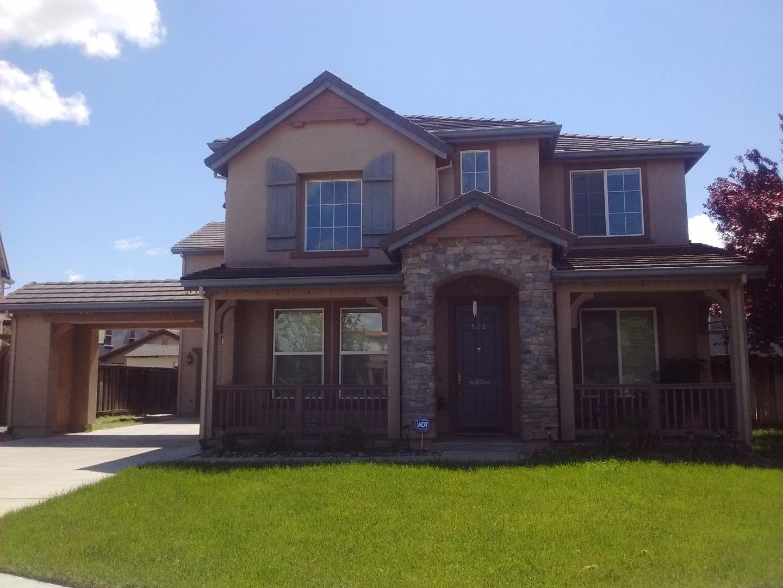 Maison unifamiliale pour l Vente à 562 Carnaby Lathrop, Californie 95330 États-Unis