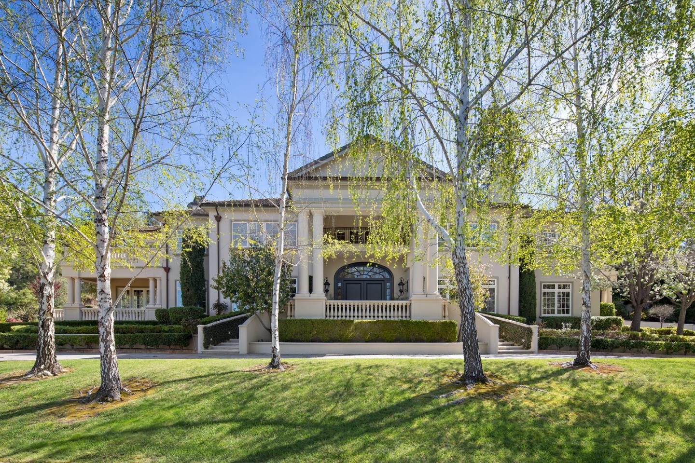 Maison unifamiliale pour l Vente à 489 Fletcher Drive Atherton, Californie 94027 États-Unis