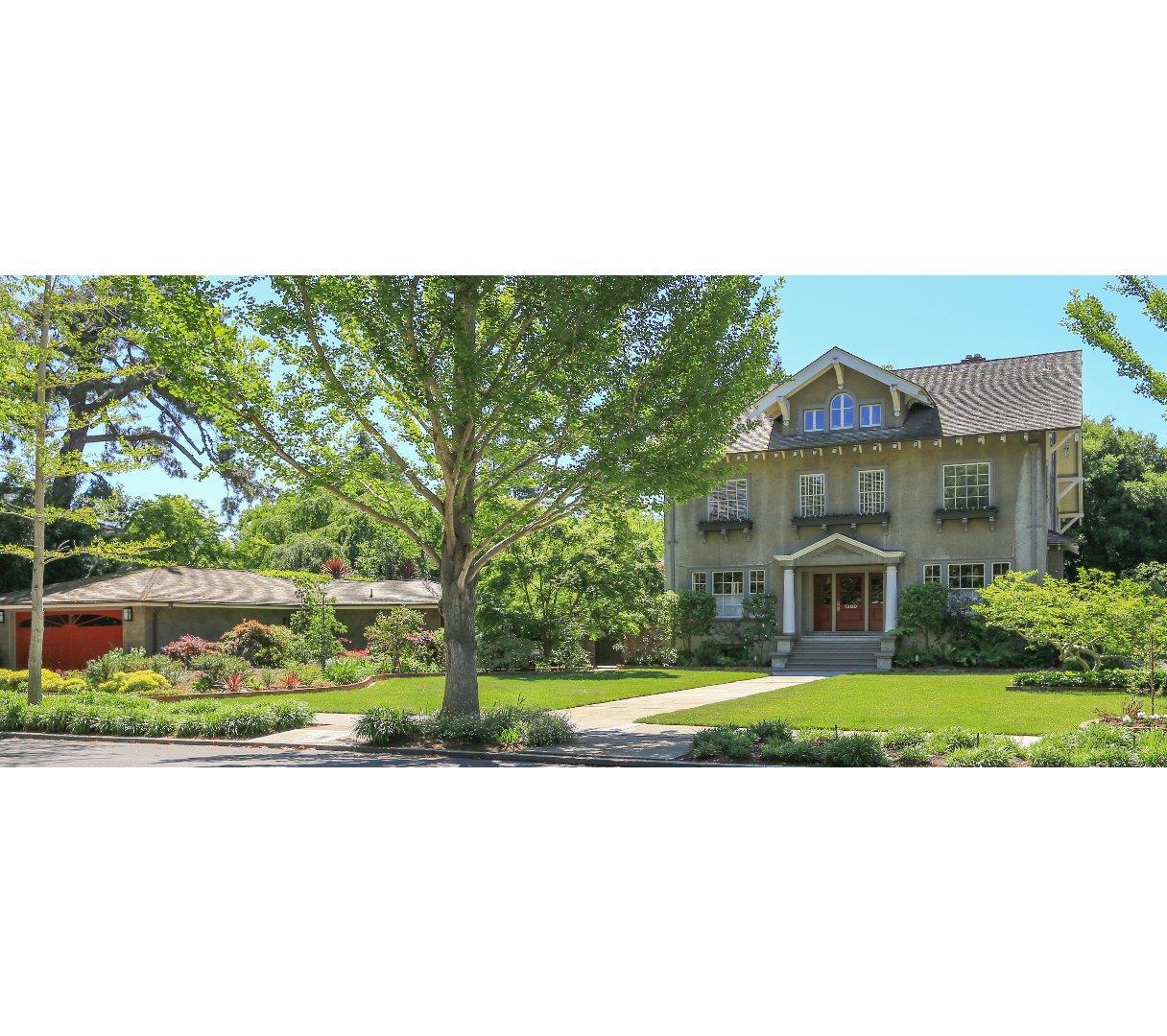 Частный односемейный дом для того Продажа на 1300 Hamilton Avenue Palo Alto, Калифорния 94301 Соединенные Штаты