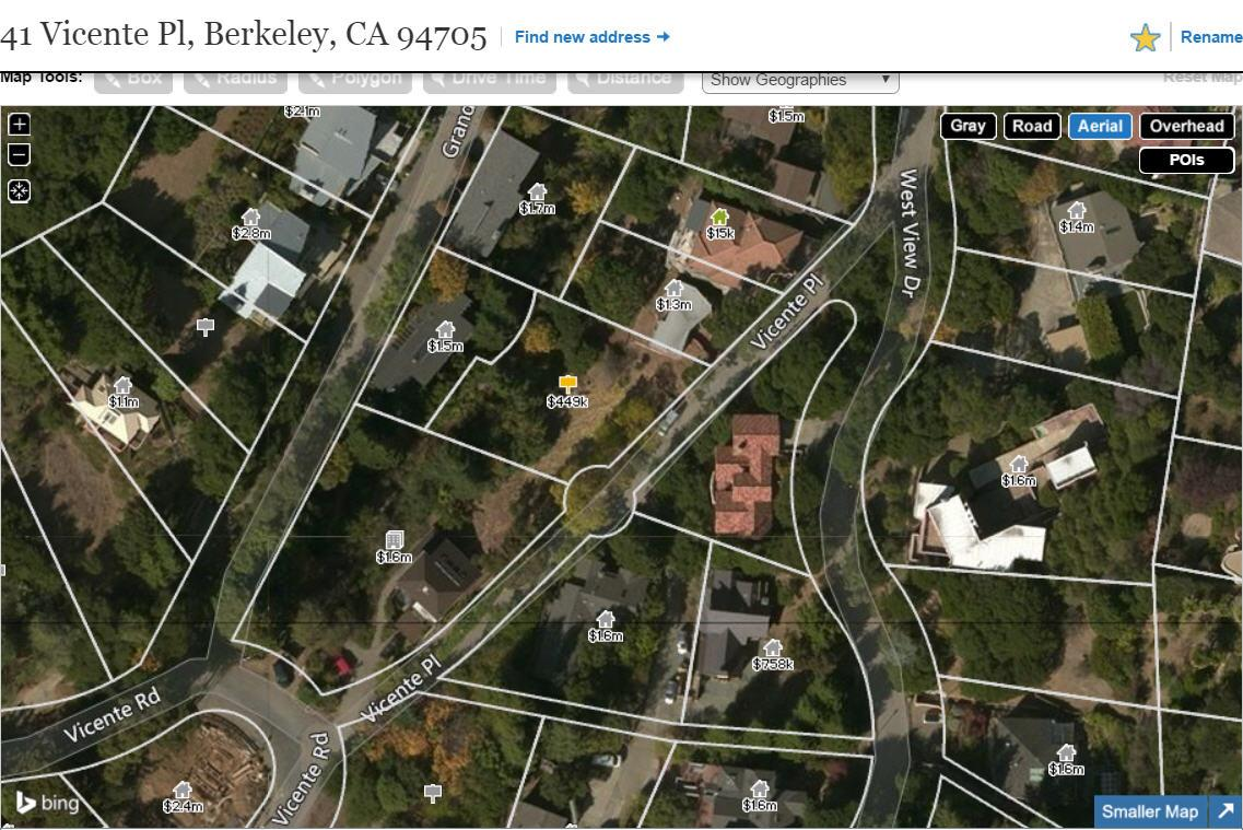 41 Vicente Pl, BERKELEY, CA 94705