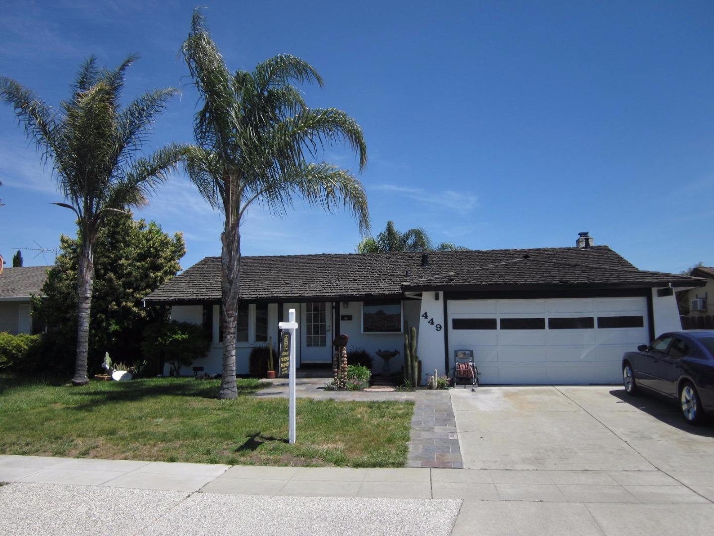 Maison unifamiliale pour l Vente à 449 Ariel Court San Jose, Californie 95123 États-Unis