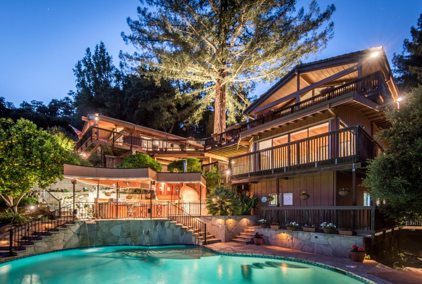 Single Family Home for Sale at 16200 Old Japanese Road Los Gatos, California 95033 United States