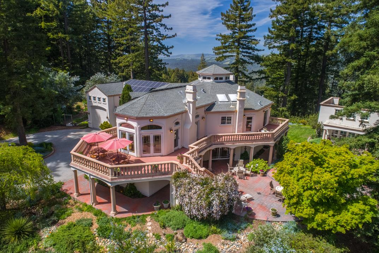 Maison unifamiliale pour l Vente à 28495 Big Basin Way Boulder Creek, Californie 95006 États-Unis