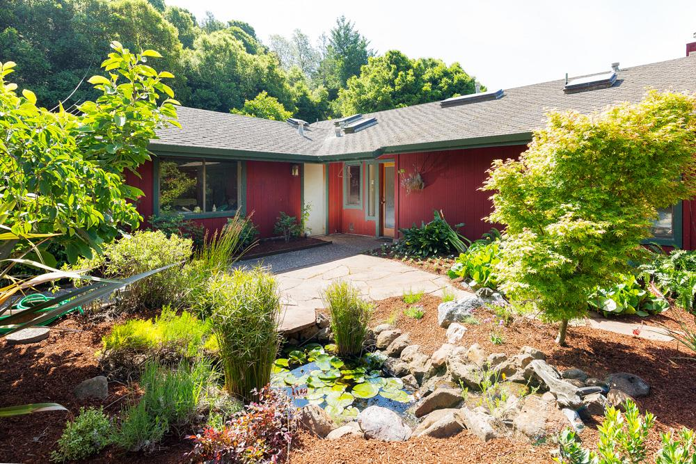 Частный односемейный дом для того Продажа на 3130 Trout Gulch Road 3130 Trout Gulch Road Aptos, Калифорния 95003 Соединенные Штаты