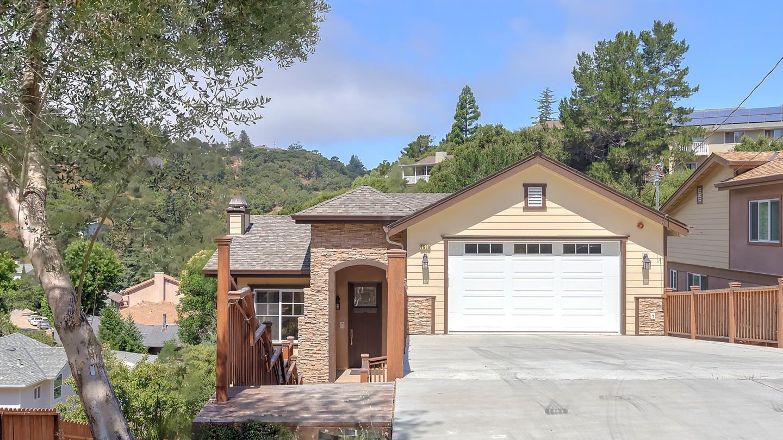 Частный односемейный дом для того Продажа на 2609 Monte Cresta Drive Belmont, Калифорния 94002 Соединенные Штаты