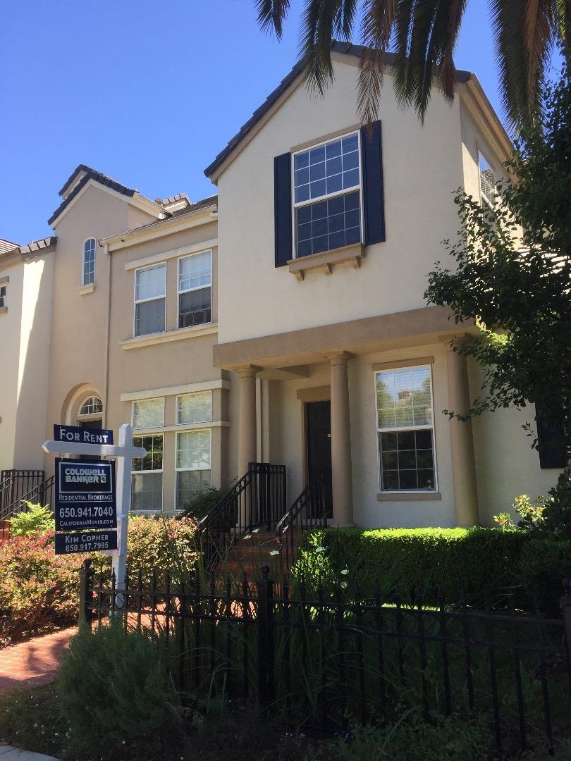 Townhouse for Rent at 257 View Street Mountain View, California 94041 United States