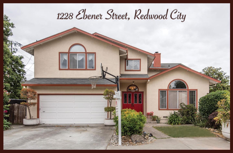 1228 Ebener Street, REDWOOD CITY, CA 94061