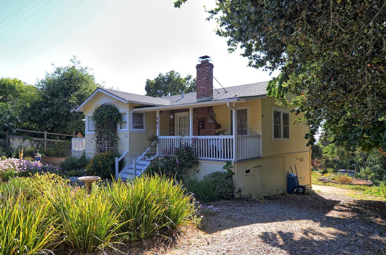 Maison unifamiliale pour l Vente à 401 Scenic La Honda, Californie 94020 États-Unis