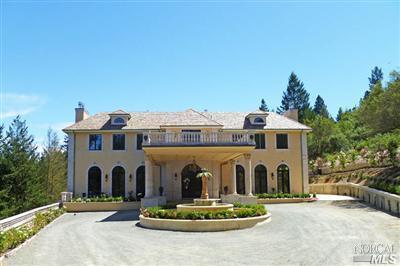 Частный односемейный дом для того Продажа на 1131 Crestmont Drive Angwin, Калифорния 94508 Соединенные Штаты
