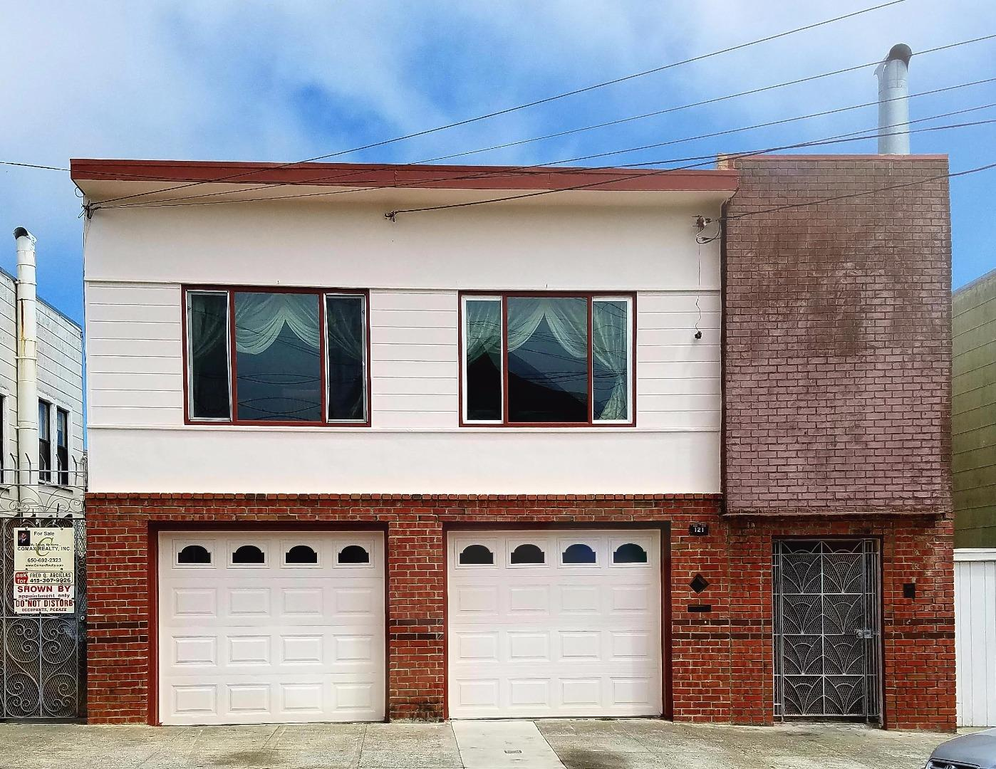 121 Peabody Street, SAN FRANCISCO, CA 94134