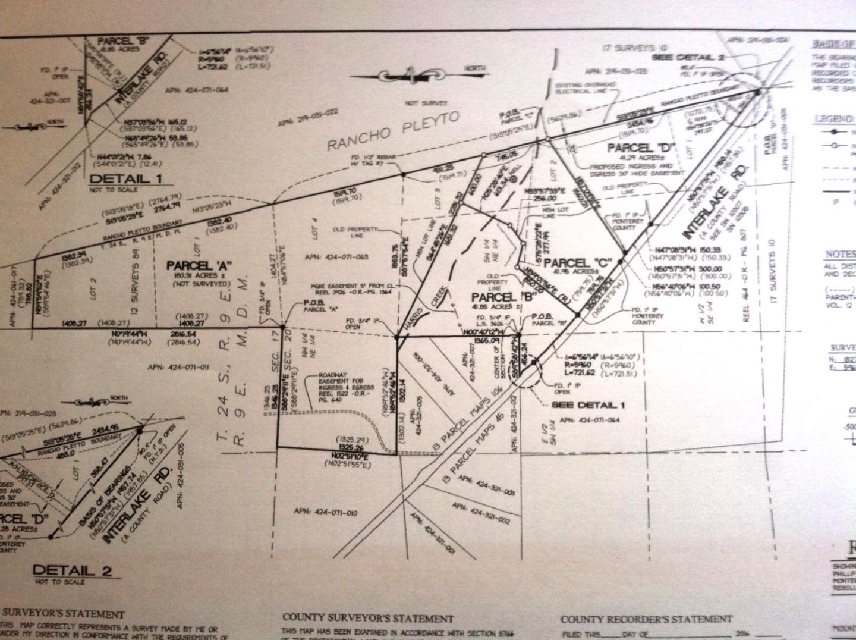 Земля для того Продажа на 76345 C Interlake Road Bradley, Калифорния 93426 Соединенные Штаты