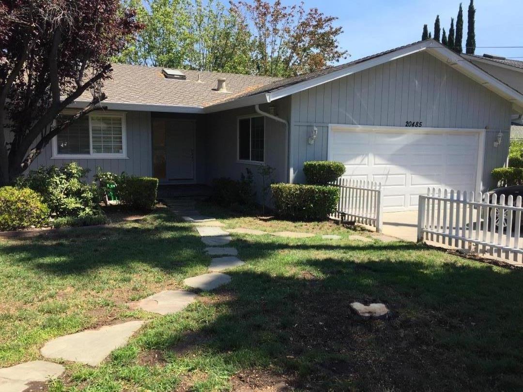 واحد منزل الأسرة للـ Rent في 20485 Williams Avenue Saratoga, California 95070 United States