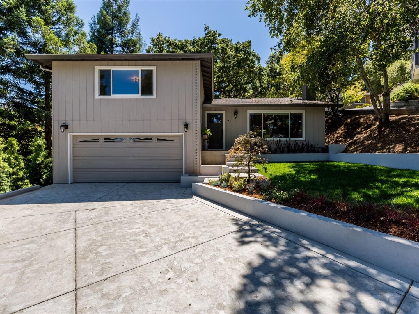 Single Family Home for Sale at 61 Devonshire Circle San Carlos, California 94070 United States
