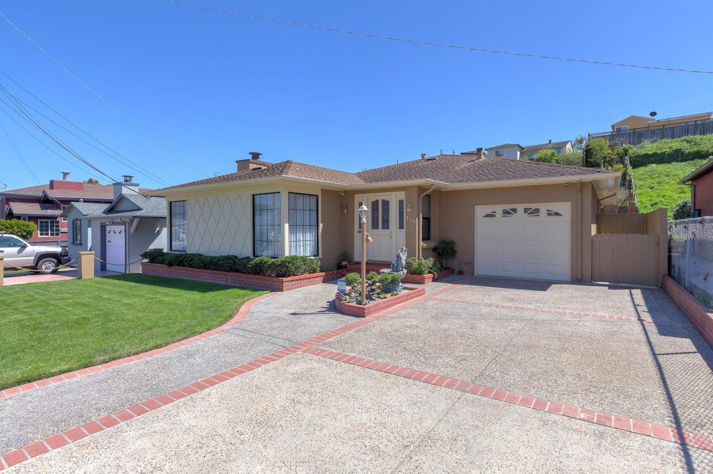 Single Family Home for Sale at 519 Macarthur Drive Daly City, California 94015 United States