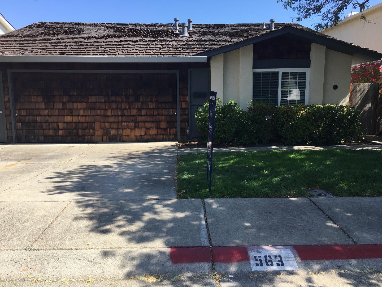 واحد منزل الأسرة للـ Rent في 563 Trinidad Lane Foster City, California 94404 United States