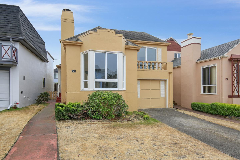 واحد منزل الأسرة للـ Sale في 87 Westdale Avenue Daly City, California 94015 United States