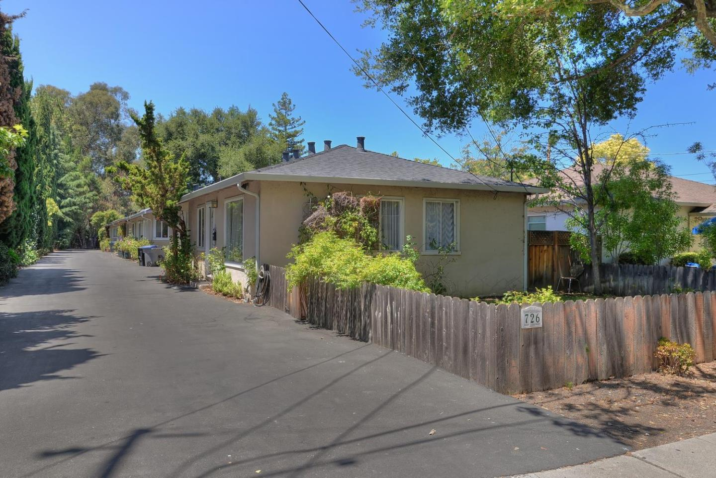Multi-Family Home for Sale at 726 Mariposa Avenue Mountain View, California 94041 United States