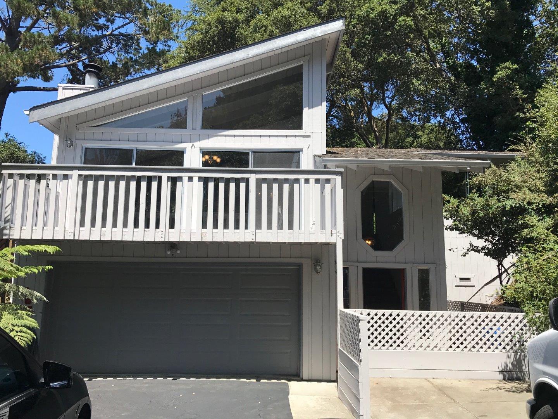 Частный односемейный дом для того Аренда на 267 Aptos Beach Drive Aptos, Калифорния 95003 Соединенные Штаты