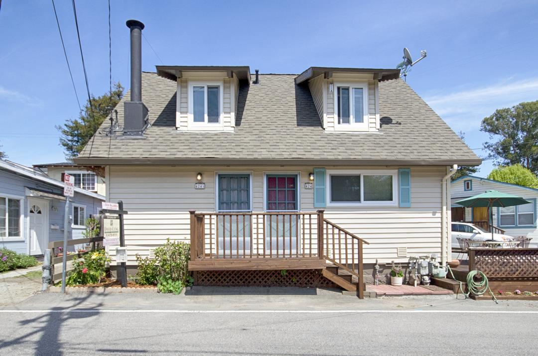 Maison unifamiliale pour l Vente à 424 Riverview Avenue Capitola, Californie 95010 États-Unis