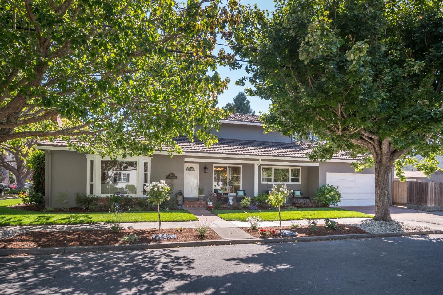 Single Family Home for Sale at 301 Channing Road Burlingame, California 94010 United States