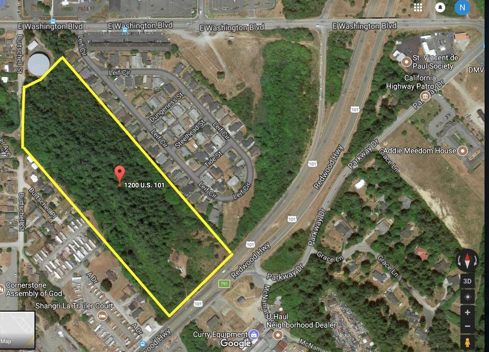 Land for Sale at 1200 US Highway 101 1200 US Highway 101 Crescent City, California 95531 United States
