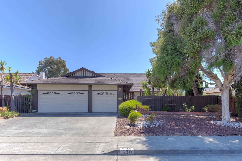 520 Becket Drive, REDWOOD CITY, CA 94065