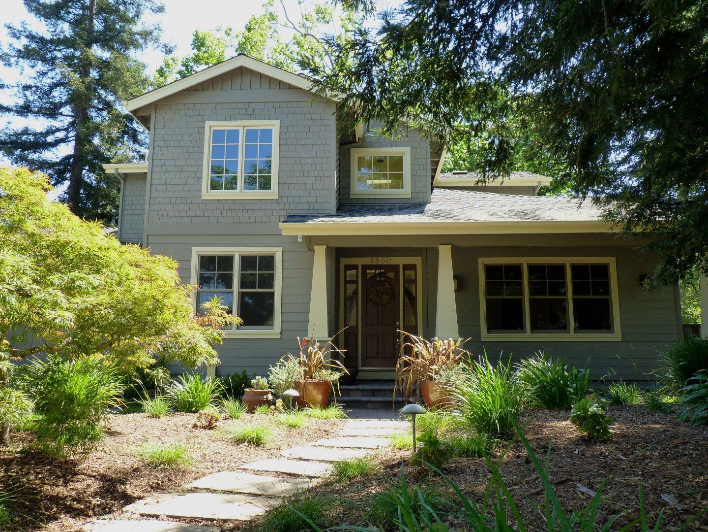 Single Family Home for Rent at 3830 Magnolia Drive Palo Alto, California 94306 United States