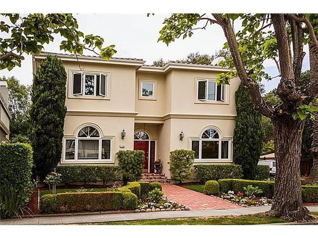 獨棟家庭住宅 為 出租 在 1153 Cabrillo Avenue Burlingame, 加利福尼亞州 94010 美國
