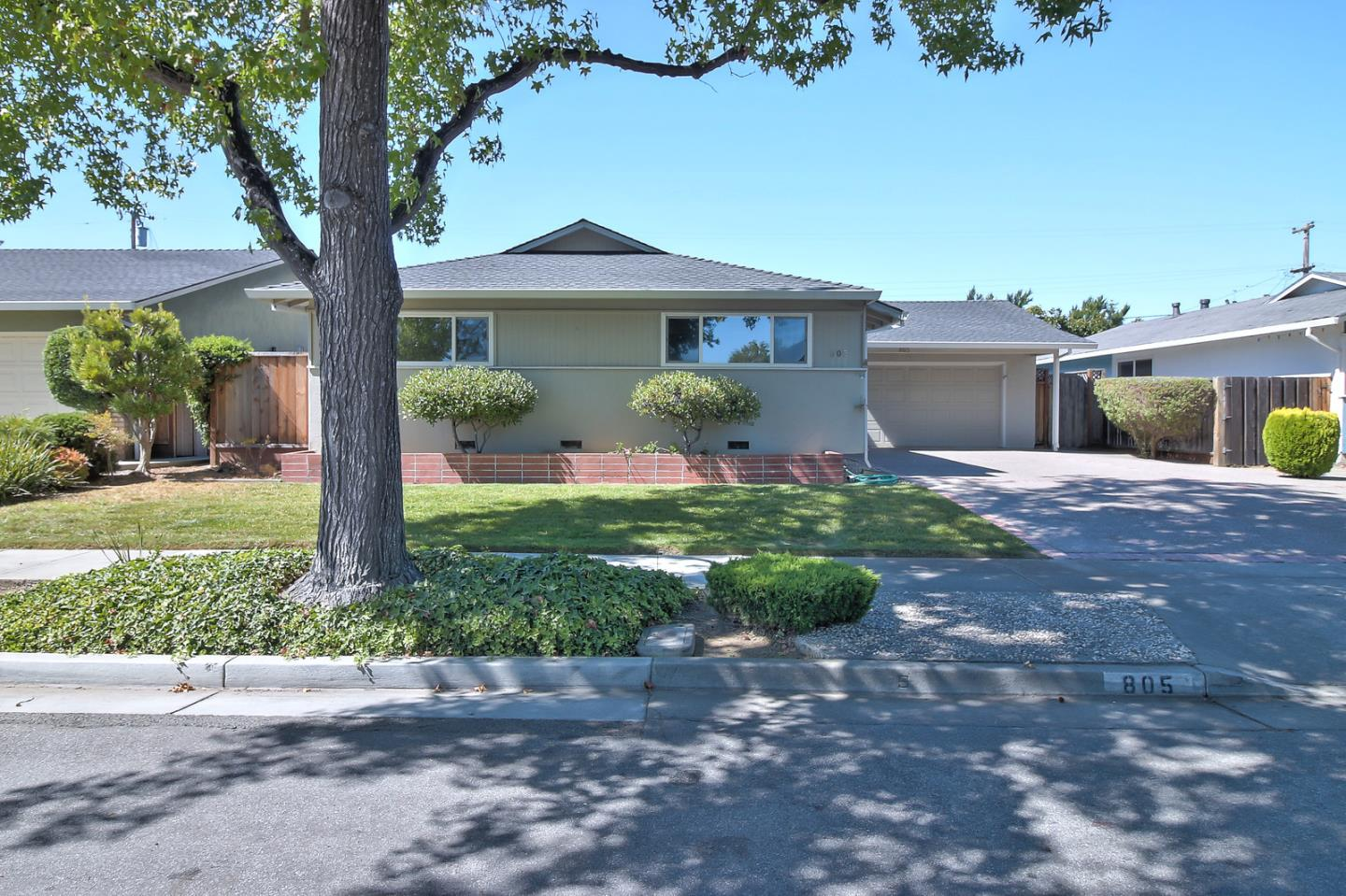 Single Family Home for Sale at 805 Fife Way Sunnyvale, California 94087 United States
