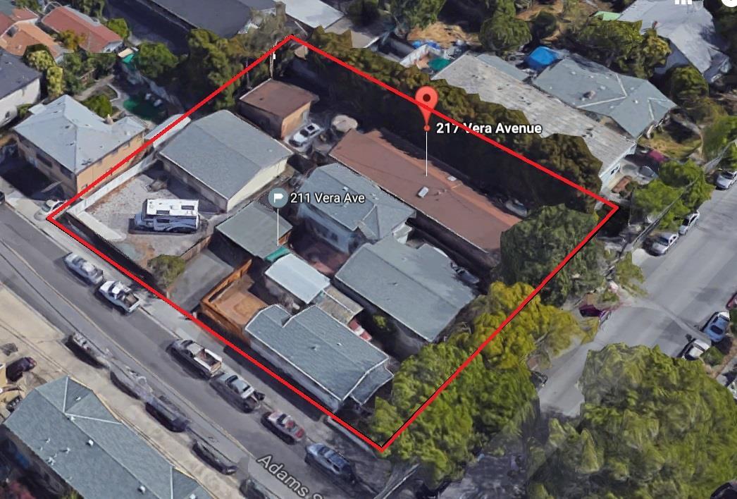 Terrain pour l Vente à 211 Vera Avenue Redwood City, Californie 94061 États-Unis
