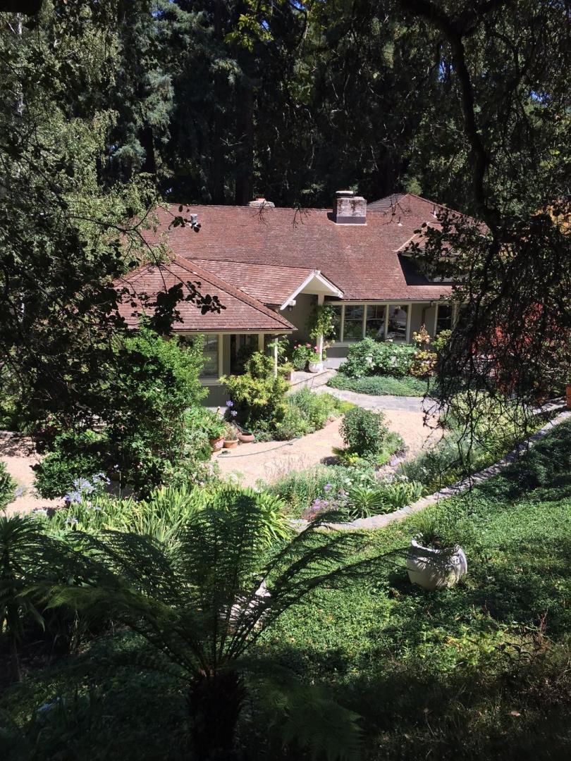 Частный односемейный дом для того Аренда на 65 Tripp Court Woodside, Калифорния 94062 Соединенные Штаты