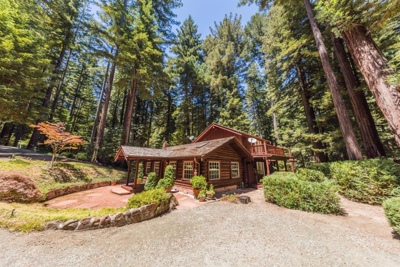 Частный односемейный дом для того Продажа на 131 Buss Road 131 Buss Road La Honda, Калифорния 94020 Соединенные Штаты