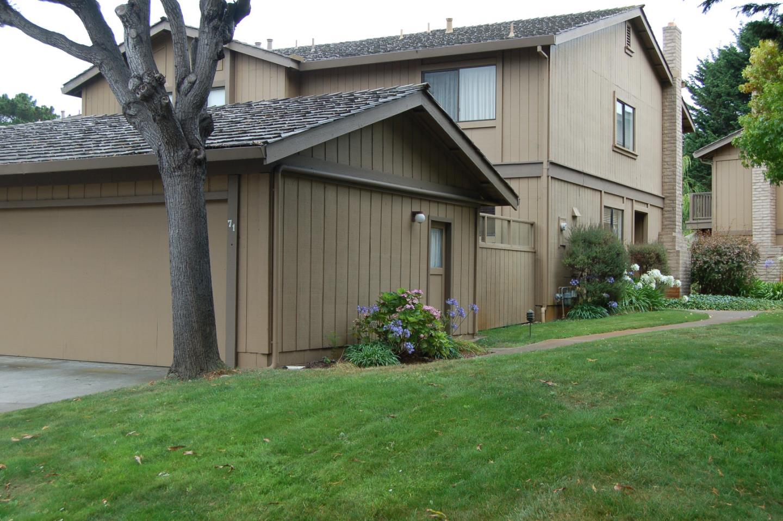 Maison accolée pour l Vente à 3850 Rio Road 3850 Rio Road Carmel, Californie 93923 États-Unis