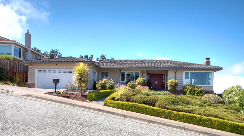 獨棟家庭住宅 為 出售 在 1260 Manzanita Drive Millbrae, 加利福尼亞州 94030 美國