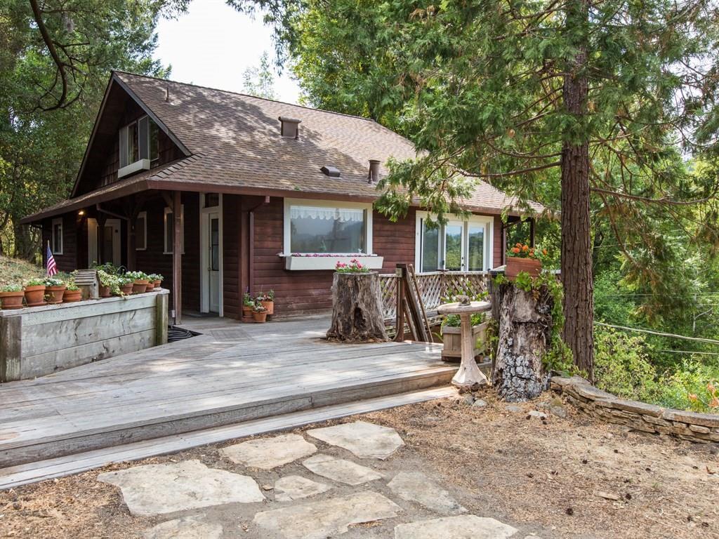 獨棟家庭住宅 為 出售 在 4 Canyon Road Felton, 加利福尼亞州 95018 美國