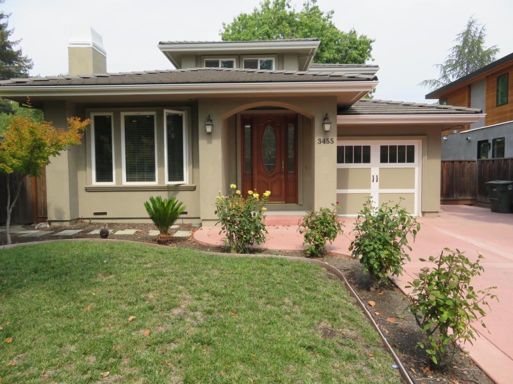 Einfamilienhaus für Mieten beim 3455 Ramona Street Palo Alto, Kalifornien 94306 Vereinigte Staaten