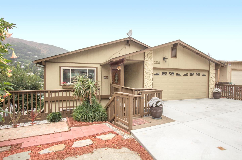 獨棟家庭住宅 為 出售 在 234 Santa Clara Street Brisbane, 加利福尼亞州 94005 美國