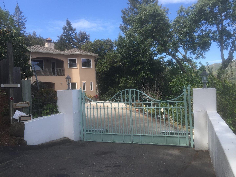 Частный односемейный дом для того Аренда на 19998 Gist Road Los Gatos, Калифорния 95033 Соединенные Штаты