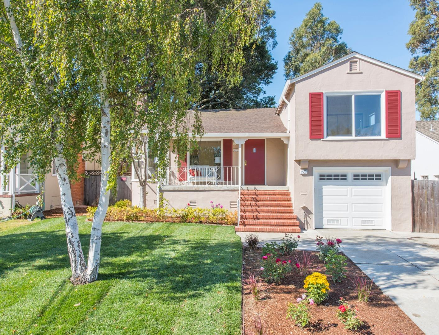 Single Family Home for Rent at 1537 Westmoor Road Burlingame, California 94010 United States