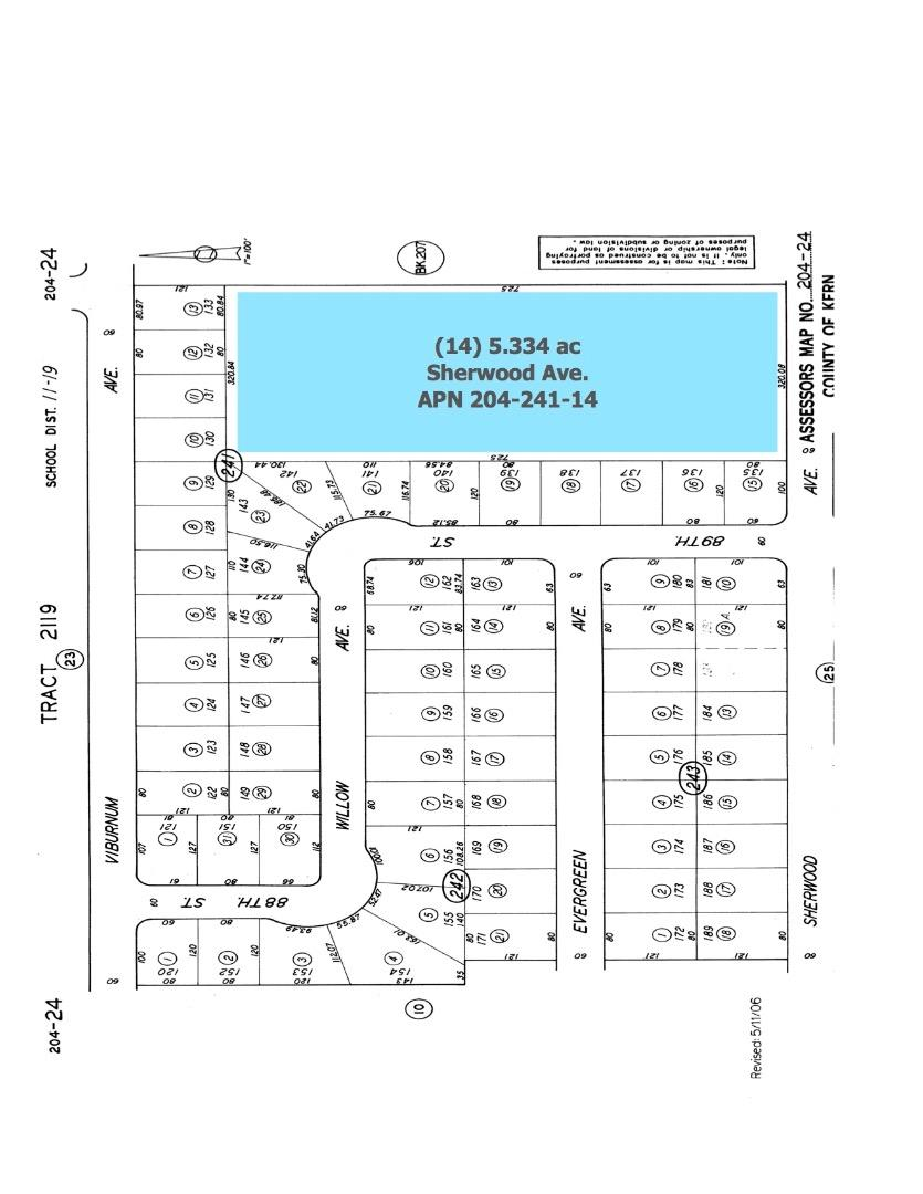 Land for Sale at Sherwood Avenue Sherwood Avenue California City, California 93505 United States