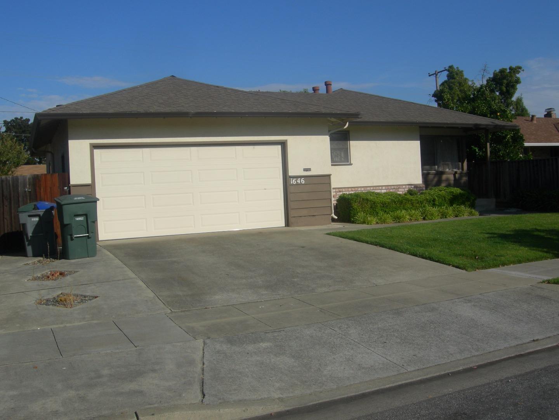 獨棟家庭住宅 為 出租 在 1646 Martin Avenue Sunnyvale, 加利福尼亞州 94087 美國