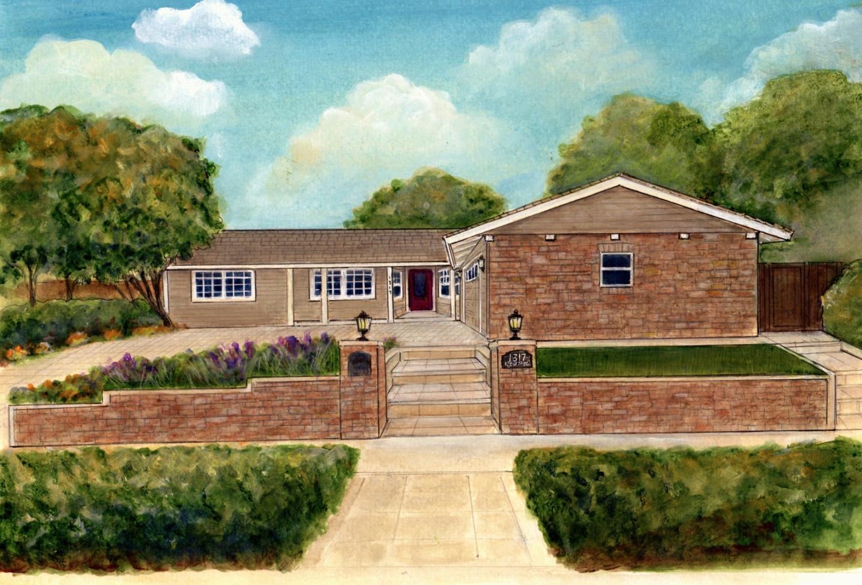 واحد منزل الأسرة للـ Sale في 1317 Nelson Way Sunnyvale, California 94087 United States